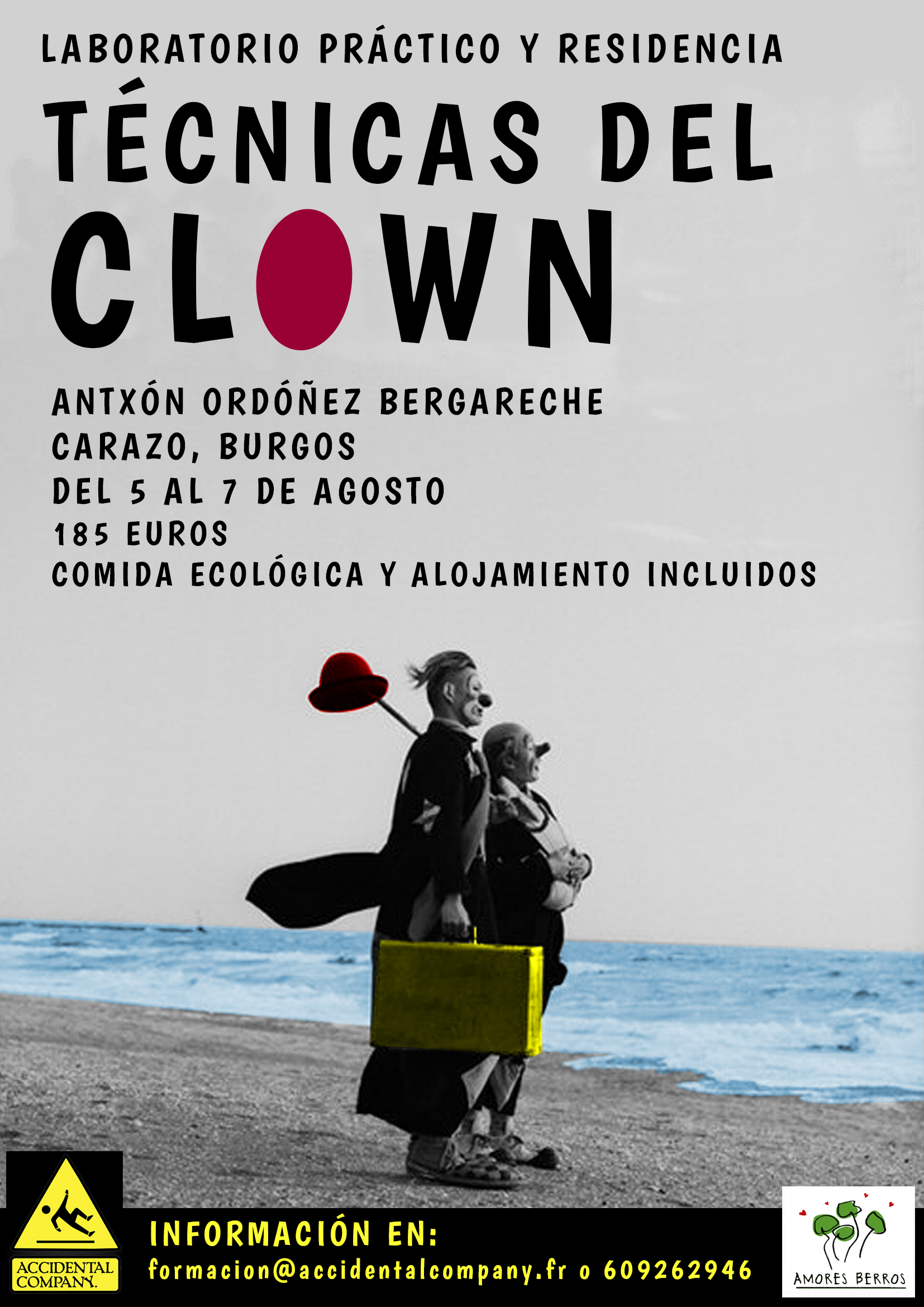 Laboratorio práctico TÉCNICAS DEL CLOWN